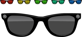 Sunglasses  illustration Stock Images