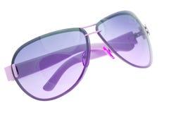 Sunglasses Isolated On White Stock Photos