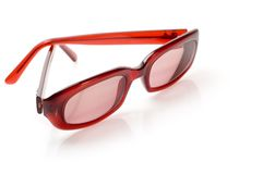 Sunglasses Isolated On White Stock Photography