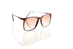 Sunglasses isolated on white royalty free stock image