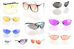 Sunglasses isolated on white Stock Images