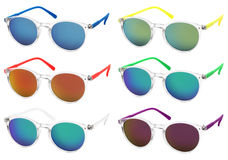 Sunglasses isolated on white background Stock Images