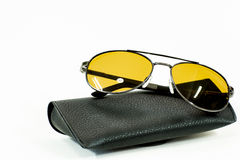 The sunglasses Royalty Free Stock Photography
