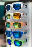 Sunglasses in market. Royalty Free Stock Photos
