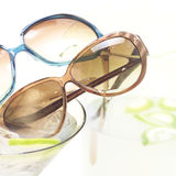 Sunglasses Mocktail. A cool way to show off your shades Stock Photos