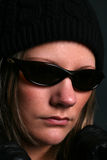 Sunglasses at night Stock Images