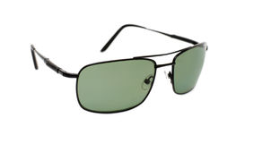 Sunglasses over white Stock Photos