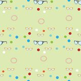 Sunglasses pattern Royalty Free Stock Images
