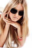 Sunglasses portrait Royalty Free Stock Image