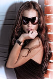 Sunglasses portrait Royalty Free Stock Image