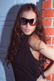 Sunglasses portrait Royalty Free Stock Photography