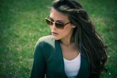 Sunglasses portrait Royalty Free Stock Photo