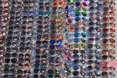 Sunglasses range Royalty Free Stock Image
