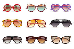 Sunglasses Realistic Set Royalty Free Stock Photo