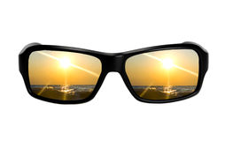Sunglasses with reflection Stock Image