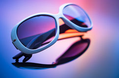 Sunglasses with reflection Stock Photography