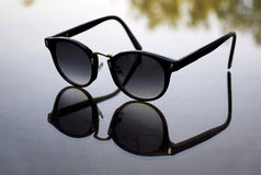 Sunglasses reflection Stock Photography