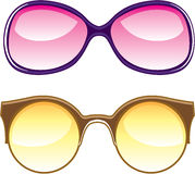 Sunglasses Retro Stock Photography