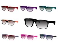 Sunglasses set Stock Image
