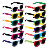 Sunglasses set. Royalty Free Stock Photography
