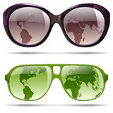 Sunglasses set Royalty Free Stock Photography
