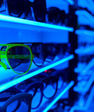 Sunglasses on Shelf (1) Royalty Free Stock Photo