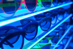 Sunglasses on Shelf Stock Photo