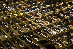 Sunglasses on the shop Royalty Free Stock Photo