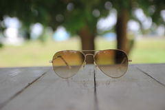 Sunglasses. Soft focus on sunglasses background Stock Image