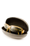 Sunglasses in spectacle case Stock Photography
