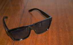 Heap Sunglasses on in summer stock image