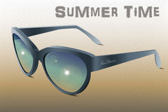 Sunglasses Summer Time Royalty Free Stock Photography