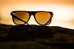 Sunglasses at Sunset Stock Photos