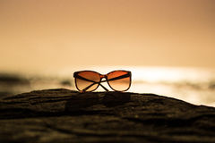 Sunglasses at Sunset Stock Photography