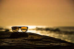 Sunglasses at Sunset Royalty Free Stock Photo