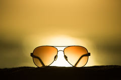 Sunglasses at Sunset Stock Image