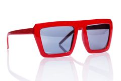 Sunglasses on the table Royalty Free Stock Photography