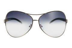 Sunglasses in a thin metal rim Stock Image