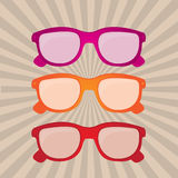 Sunglasses vector Royalty Free Stock Photography