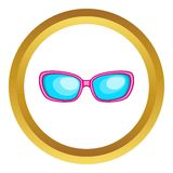 Sunglasses vector icon Royalty Free Stock Photo