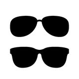 Sunglasses vector icon Royalty Free Stock Images