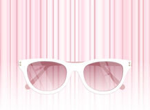 Sunglasses vector illustration background Royalty Free Stock Images