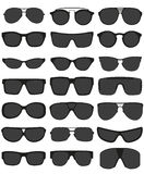 Sunglasses vector illustration Royalty Free Stock Photos