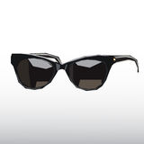 Sunglasses. Vector image of sunglasses isolated on a light gray background royalty free illustration