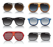 Sunglasses Vector Set Stock Image