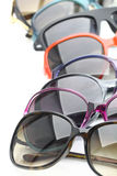 Sunglasses on white background Royalty Free Stock Images