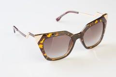 Sunglasses  white background Stock Images