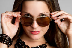 Sunglasses Woman Royalty Free Stock Photos