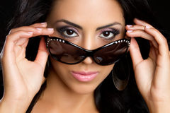 Sunglasses Woman Stock Image