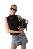 sunglasses woman Στοκ Φωτογραφίες